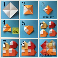 Read more about Origami Paper Folding Origami Design, Diy Origami, Origami Wall Art, Origami Quilt, Origami Modular, Origami Cards, Origami Paper Folding, Origami Yoda, Origami Star Box
