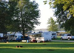 Otter Creek, Tama County, Iowa is one of our favorite camping spots.