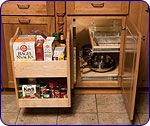 KitchenMate™ Blind Corner Cabinet Organizer by Omega National | KitchenSource.com