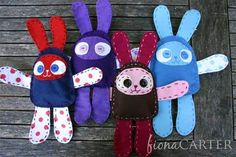 Mini Moopy Bunnies DIY