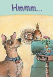 Gary Patterson card, love this artist