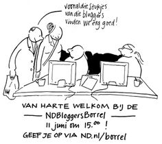 Christelijke Webloggers: Nederlands Dagblad Bloggers Borrel - 11 juni 2016