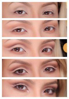 DESI PERKINS SOFT CUT CREASE TUTORIAL! Step by step photos of her rockstar eye makeup!