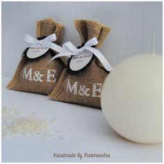 La boda del Mark i l'Elena (1): Els saquets de l'arròs