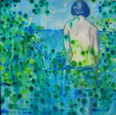 "Saatchi Art Artist: Tania Ortega; Acrylic 2011 Painting ""Bless the Water"""