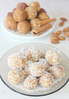 Raw Almond apricot energy balls