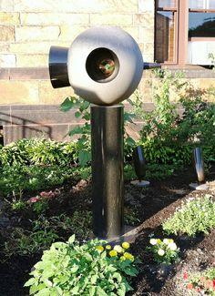Life Force II - sculpture by David Bakalar (1991) near Zabriskie House, Longy School of Music, #CambMA