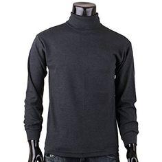 BCPOLO Men's Casual Half/Turtleneck Long sleeve sweatshirt Cotton Mock Neck style t-shirt.-L-charcoal XS BCPOLO http://www.amazon.co.uk/dp/B00RT05CWK/ref=cm_sw_r_pi_dp_zNa-ub0M6QX1B