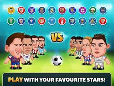 GAME Head Soccer La Liga v1.1.1 MOD Apk [Unlimited Money] for Android - http://apkville.net/2015/05/game-head-soccer-la-liga-v1-1-1-mod-apk-unlimited-money-for-android/