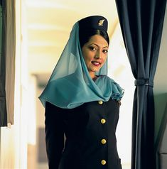 Gulf Air hostess