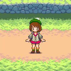 Play Pokemon, Pokemon Comics, Pokemon Memes, Pokemon Funny, Pokemon Fan Art, How To Pixel Art, Pixel Characters, Pokemon Game Characters, Piskel Art