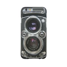 Vintage Antique Camera Case Cover for iPhone 6 Barely There Iphone 6... ($43) ❤ liked on Polyvore featuring accessories and tech accessories