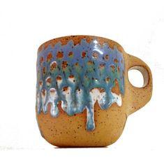 Alex Corrin Blue and White Mug