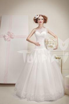 Tulipia Happy - Djein Tulle Fabric, Formal Dresses, Wedding Dresses, Color, Happy, Fashion, Dresses For Formal, Bride Dresses, Moda