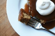 Sticky Toffee Pudding--must try someday!