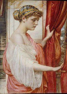 At the Window, Sir Edward John Poynter