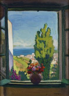 1000 images about albert marquet on pinterest marseille for Matisse fenetre