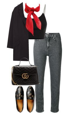 """Untitled #5223"" by theeuropeancloset on Polyvore featuring Calvin Klein, Alexander Wang, Gucci and MANGO"
