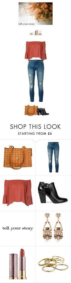 """""""Your story"""" by blueeyed-dreamer ❤ liked on Polyvore featuring MCM, MICHAEL Michael Kors, Glamorous, Tim Holtz, Anton Heunis, Urban Decay, Kendra Scott, casual, contest and Boots"""