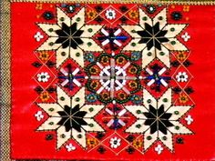 Hardanger Embroidery, Embroidery Stitches, Star Patterns, Beading Patterns, Spinning Circle, Midnight Sun, Serbian, Cute Designs, Folklore