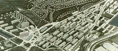 Urbanistická studie Zlína z ptačí perspektivy