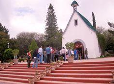 Santuario de Nuestra Señora de Schoenstatt, réplica del Santuario original fundado por el Padre José Kentenich. Municipio de Corregidora, Querétaro.