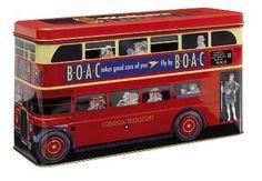 Walkers London Double Decker Bus