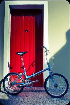 """Legnano 20 Custom Bike Folding CAJA PEDALERA Savoretti de 35,5mm y JUEGO DE DIRECCION genérica de acero de 1""""."""