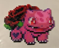 Easy Perler Bead Patterns, Melty Bead Patterns, Perler Bead Templates, Kandi Patterns, Beading Patterns, Loom Beading, Hama Beads Pokemon, Diy Perler Beads, Perler Bead Art