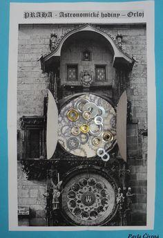 Pražský orloj - jak to asi vypadá uvnitř orloje - mechanický hodinový stroj Big Ben, Historia
