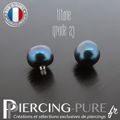 Microdermal Perle naturelle prussian blue - Piercing-Pure White Opal, Blue Opal, Piercings, Prussian Blue, Thing 1, Me Clean, Mother Pearl, Cultured Pearls, Fresh Water