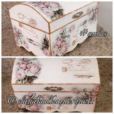 1 million+ Stunning Free Images to Use Anywhere Painted Trays, Painted Boxes, Wooden Boxes, Hand Painted, Jewelry Box Makeover, Image Deco, Decoupage Box, Altered Boxes, Jewellery Boxes