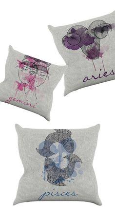 Mercury Retrograde Throw Pillow