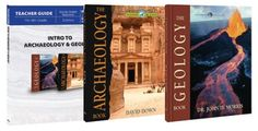 Intro to Archaeology & Geology Pack, 3 Volumes The Wonders of Creation Series