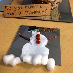 Thinking and Learning in Room 122: Do You Want to Build a Snowman?