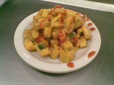 Cocina de Costa Rica, Como Hacer Recetas de Ensalada Fría de Banano Verde