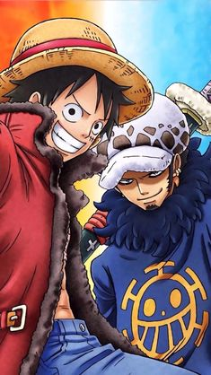 Luffy et Law