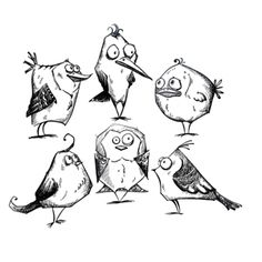 Stampers Anonymous Cling Mount Stamps - Bird Crazy $21.95