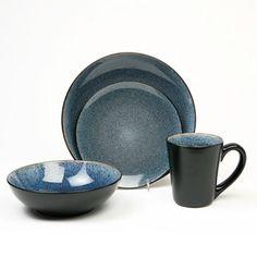 Baum Simplicity Blue 16-pc. Dinnerware Set