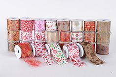 Wired Christmas Ribbon Wholesale. Cheap Christmas Ribbon Suppliers USA, UK, Canada, Australia, Newzealand. Buy Bulk Wired Discount Christmas Ribbons in More than 50 Styles,