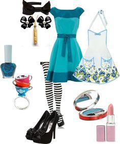 """Alice In Wonderland modern day"" by loinwonderland on Polyvore"