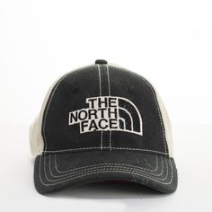 The North Face Men s Hat Fitted Baseball Style Cap Hat Small-Medium TN –  itisvintage a63f99bf97a2