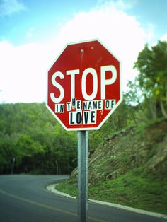 Stop in The Name of Love St John USVI