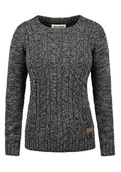 f7ea86d85bedf7 DESIRES Phia Damen Strickpullover Grobstrick Pullover 100% Baumwolle,  Größe:M, Farbe: