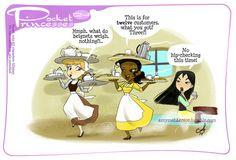 Pocket Princesses 124 - Breakfast Please reblog, do not repost Facebook page