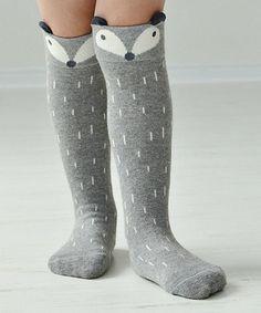 Look at this #zulilyfind! Gray Fox Socks - Girls #zulilyfinds