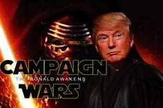 Campaign Wars: The Donald Awakens (Parody)  | Generation Tech