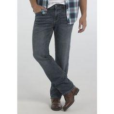 Men's Slim Straight Medium Wash Jeans