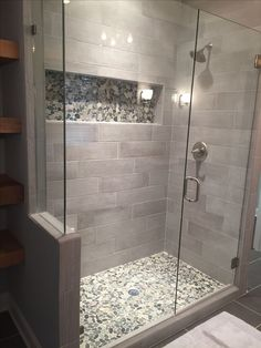 ✔Top 45 Best Modern Bathroom With Wall-Mounted Ideas In 2019 7 ~ TopInteriorsDesign.Com ✔Top 45 Best Modern Bathroom With Wall-Mounted Ideas In 2019 7 ~ TopInteriorsDesign. Master Bathroom Shower, Modern Master Bathroom, Bathroom Layout, Modern Bathroom Design, Bathroom Interior Design, Condo Bathroom, Bathroom Mirrors, Bathroom Hardware, Bathroom Cabinets