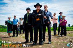 Everyone on Amish Mafia